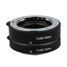 Automatic Macro Extension Tube Ring for Olympus Panasonic four thirds Micro-M4/3 #8(China)