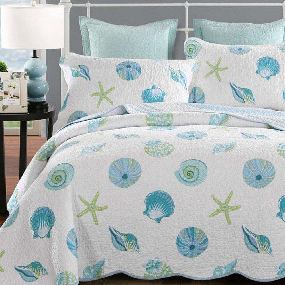 Beach Theme Blanket: Aliexpress.com : Buy WINLIFE Beach Theme Patchwork Quilt