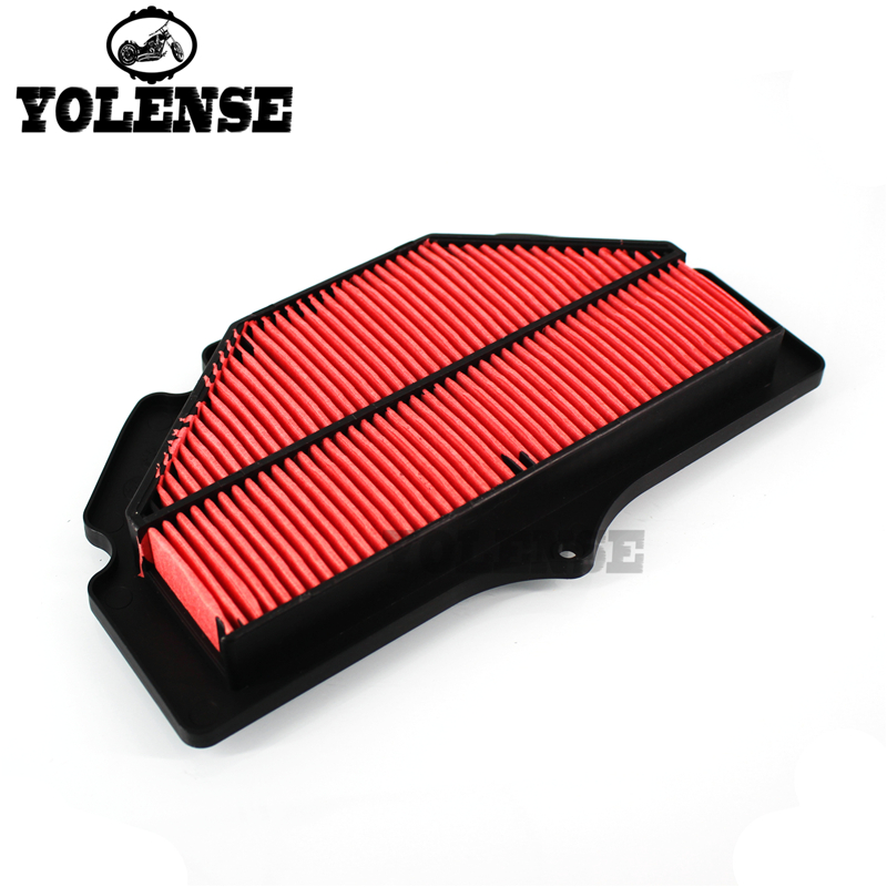 For SUZUKI GSR 400 600 750 GSR400 GSR600 GSR750 BK Motorcycle Accessories Air Filter Intake Cleaner Grid Clean Cotton