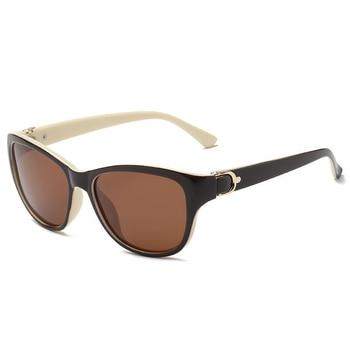 2020 Luxury Brand Design Cat Eye Polarized Sunglasses Men Women Lady Elegant Sun Glasses Female Driving Eyewear Oculos De Sol - C4