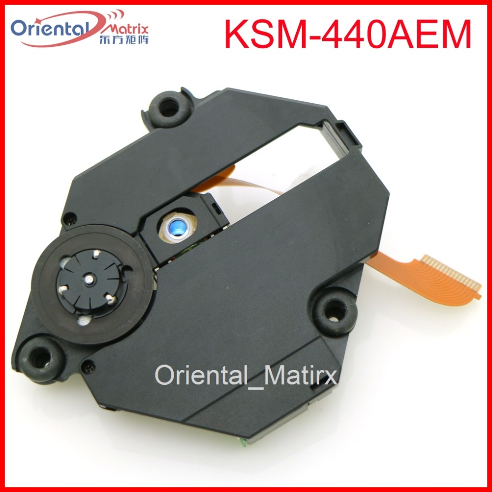 Free Shipping KSM-440AEM Optical Pick Up For Sony PS1 PS ONE KSM-440 With Mechanism Optical Pick-up replacement laser lens pick up drive for sony ps1 playstation one ksm 440adm 440bam 440aem optical repair part