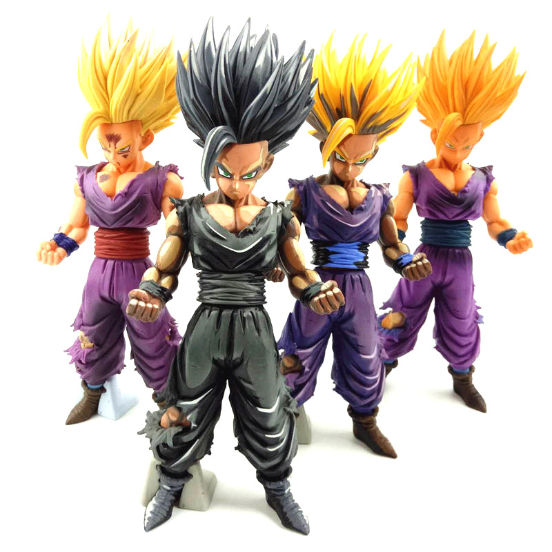 Dragon Ball Z Master Stars Piece The Son Gohan Special Color ver. PVC Figure Collectible Toy 22-24cm dragon ball z master stars piece msp the vegeta manga dimensions chocoolate pvc figure collectible model toy 28cm kt3955