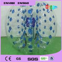 Free Shipping 1.2m TPU Inflatable Zorb Ball Bubble Soccer Football Ball Inflatable Human Hamster Ball Bumper Ball For Kids