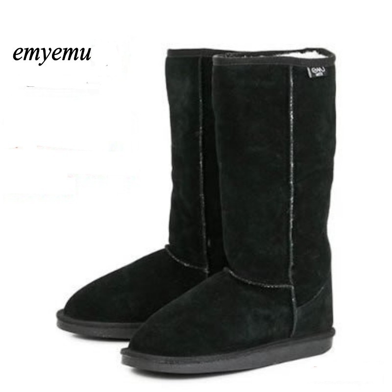 Australia EMYEMU Bronte Hi 100% Wool inner Winter Snow Boots 4colors bronte winter boots women boots snow boots