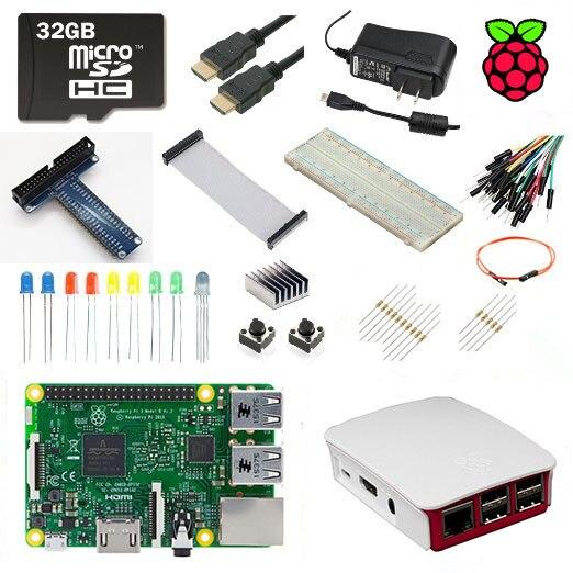 Raspberry Pi 3 Model B Ultimate Starter Kit 1GB RAM Quad Core 1 2GHz 64bit CPU