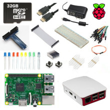 Raspberry Pi 3 Модель B Ultimate Starter Kit + 1 ГБ RAM Quad Core 1.2 ГГц 64bit ПРОЦЕССОРА Wi-Fi и Bluetooth