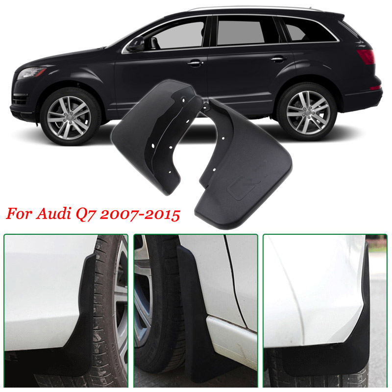 Ipoboo 4pcs Premium Heavy Duty Molded Splash Mud Flaps Guards Fenders For Audi Q7 2007 2015-in ...