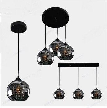 luces cabezas colgantes negras tres restaurante vela 3 vONn80mw