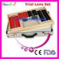 158AL-SL 158pcs Trail Lens Set Case Plastic Color Rim Aluminum Case Packed Lowest Shipping Costs !