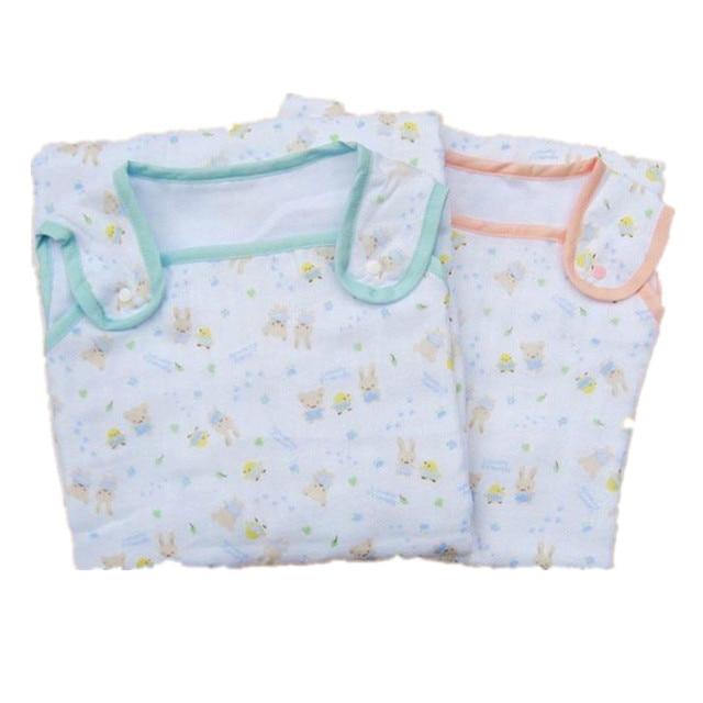 Vest Baby Sleeping Bag 2016 New Gauze Cartoon Kids Sleeping Bag Anti Tipi Sleeping Bag 6 Floors Cotton 2 Colours Sleeping Bag