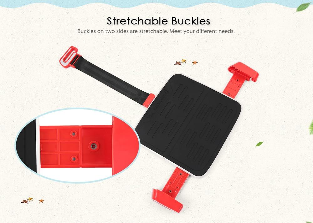 Portable Foldable Children Kids Safety Booster Car Seat Adjus ( (3)