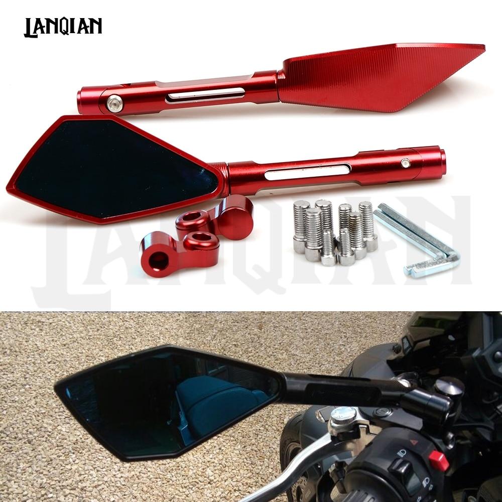 2019 Motorcycle accessories Rearview side Mirrors For Honda CB CBR 300 600F 1000R 1100 cb650f 500x cbr 125 cb400 cb190r xsr900