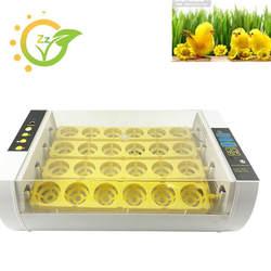 24 яиц инкубатор мини-Небольших Коммерческих автоматический инкубатор Хэтчер птицы питомнике для курицы уток гусей