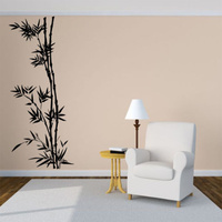 Details about Wall Room Decor Art Vinyl Decal Sticker Bamboo Tree Bush Forest Large Big