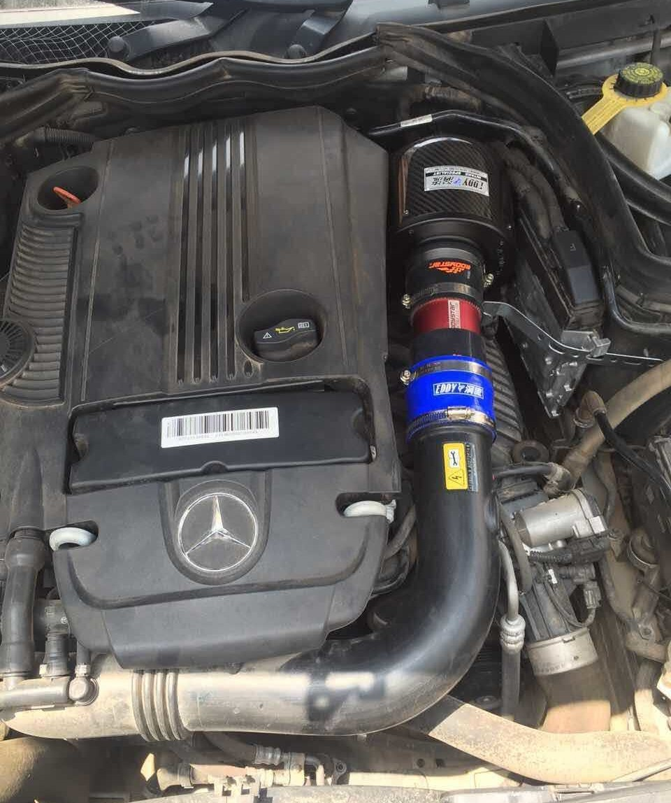 FOR mercedes-benz M271 engine C180 C200 C260 E260 E200 turbocharged exhaust  pipe intake Air Hose