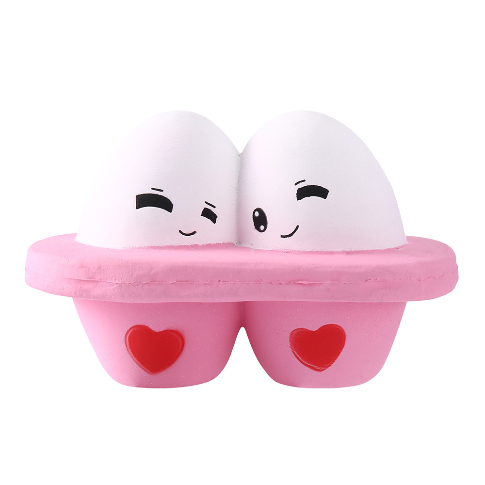 Stress Relief Toy Relax Toys Squishy Squishies Soft Scented Cute 12pcs Stress Reliever Scented Egg Super Slow Rising Kids Toy Squeeze Toys D300226 Toys & Hobbies