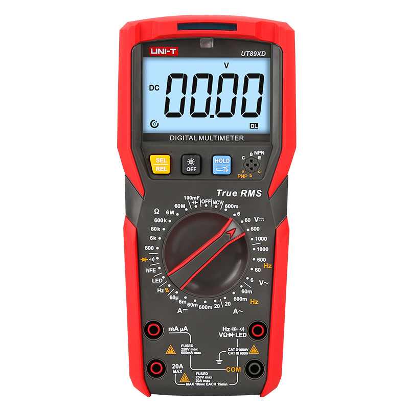 Original UNI T UT89X UT89XD true RMS Digital multimeter high current NCV capacitor triode temperature Frequency