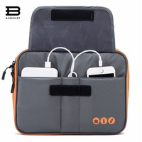 BAGSMART Business Trip Packing Organizer Pad Kindle Fit In Casual Style Portable Data Line Charger Bag