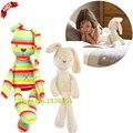 Venda quente Brinquedos Do Bebê Colorido Macio Coelho de Brinquedo de Pelúcia Para As Meninas Infantil Coelho Bonecas TY8