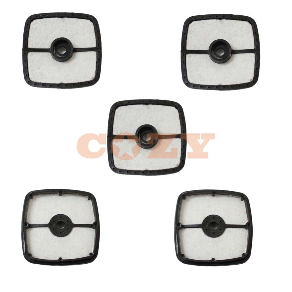 small resolution of 5 x air filter for echo 13031054130 trimmer blower a226001410 srm 210 225 hc150