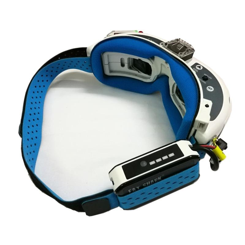 Новый зеленый/синий/оранжевый FPV очки головной ремень и Лицевая панель губка клейкая лента для URUAV Fatshark FPV RC Дрон запасные части