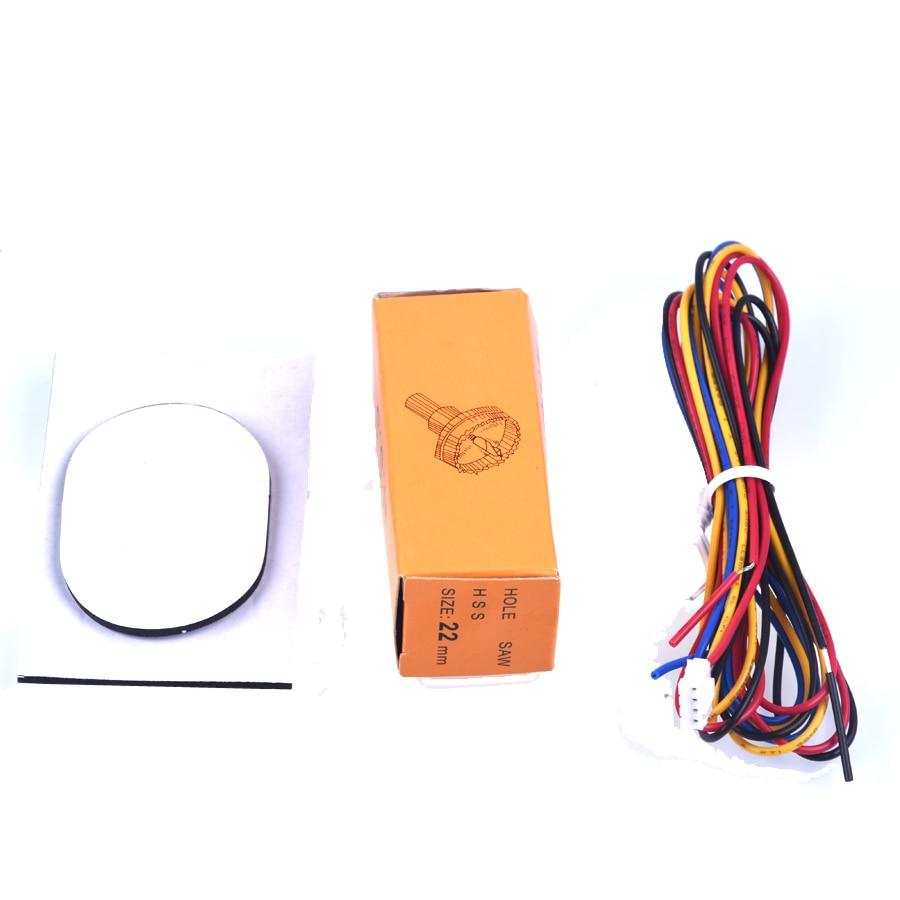 Avtomobil dayanacağı Sensoru tərs geri yedəkləmə radarı LCD - Avtomobil elektronikası - Fotoqrafiya 6