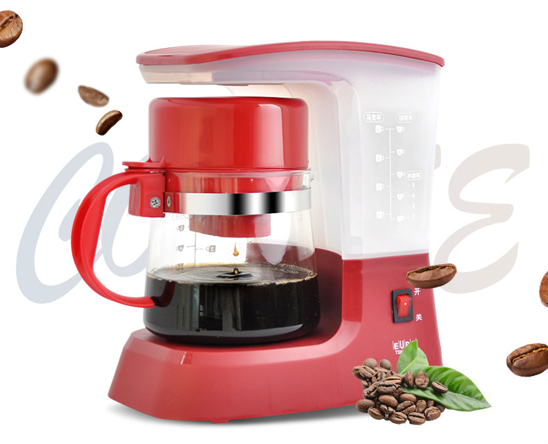 American coffee maker USES drip - tea machine automatically make Drip Coffee Maker все цены
