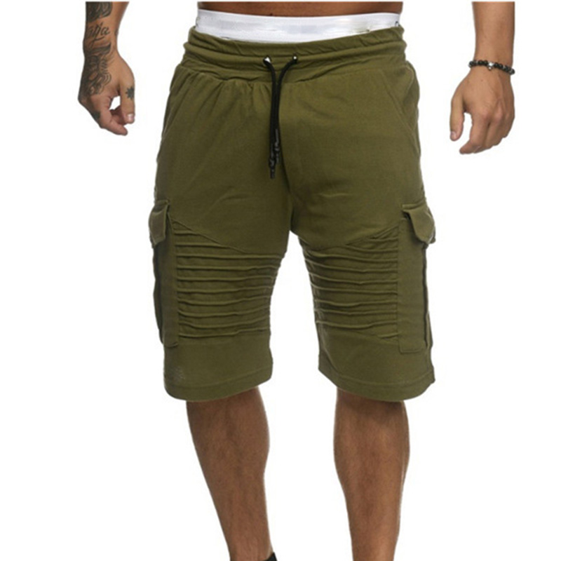 Men   Shorts   Summer Swimming   Board     Shorts   Sports Wear Fitness Middle Waist Straight Pants Beach Swimsuit Jogging   Short   Pants 0.2