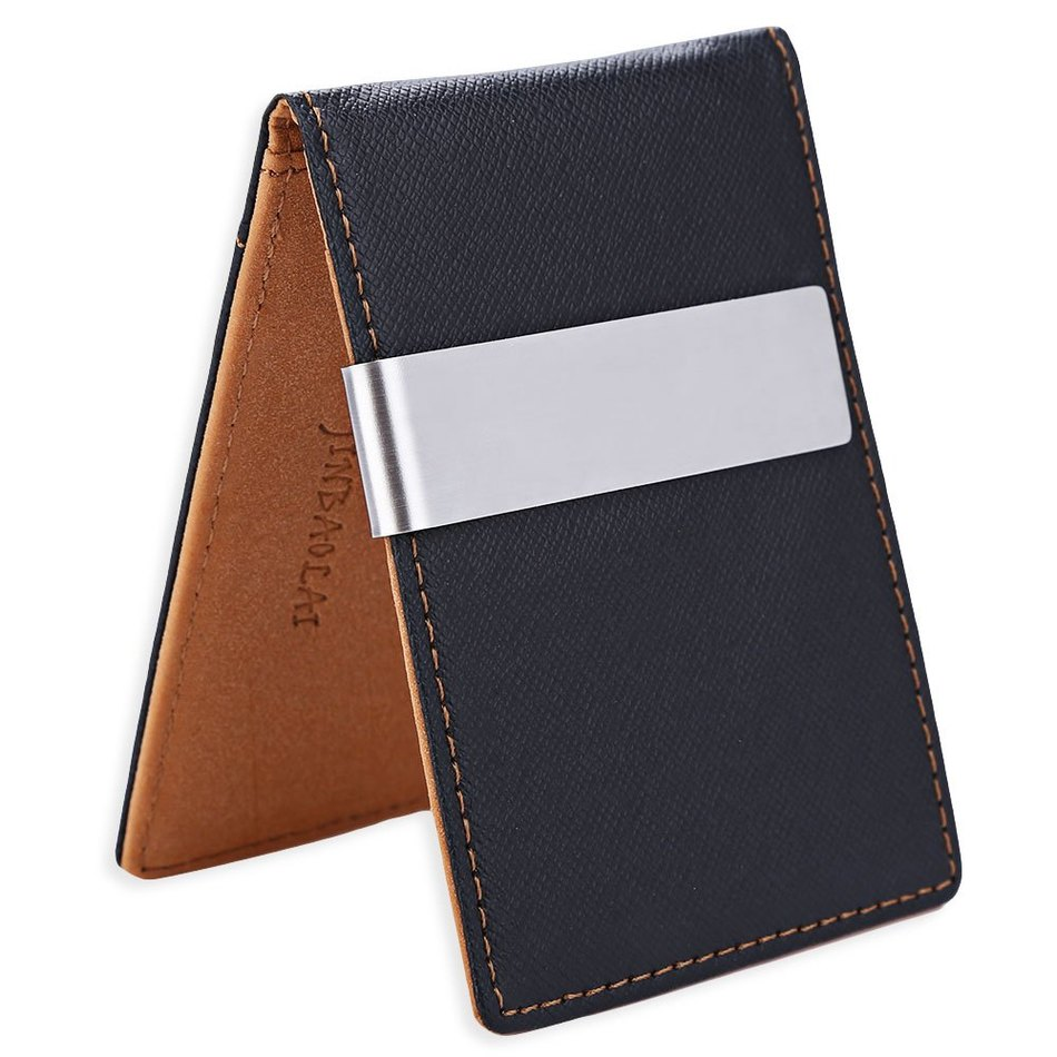 Fashion 2016 Boyfriend Gift Leather Money Clip Business Men Clutch Wallet Billfold Short Men Purses carteira Slim Money Card Bag frank buytendijk dealing with dilemmas where business analytics fall short