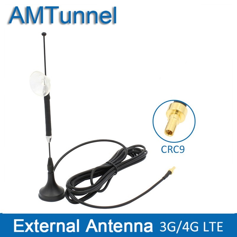 4G Antenna 3G  LTE Antena With CRC9 Male 10dBi External Magnetic Base 3M Cable For Huawei E3372 E3276 Vodafone K5007 ZTE Router