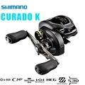 Shimano Original Neue CURADO K Pr0file Reel 200 201 200HG 201HG 200XG 201XG 6,2 7,4 8,5 Links/rechts Hand baitcastingrolle
