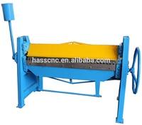 harsle manual steel folding machine/steel sheet metal bender/duct folding equipment