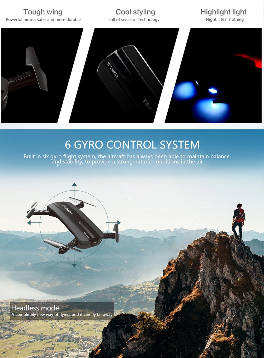 8 JXD 523 JXD523 Mini Foldable drone