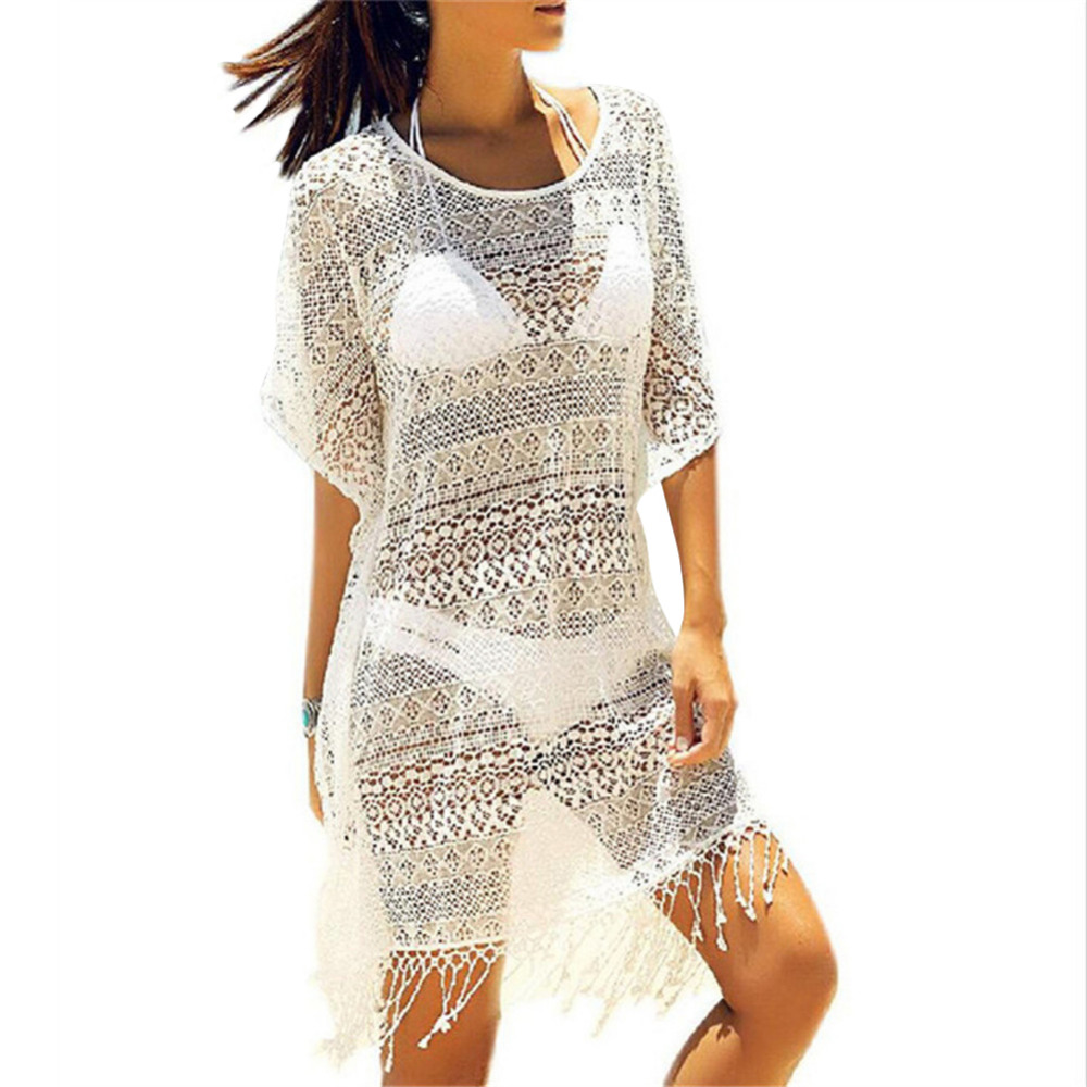 Beach tunic crocheted