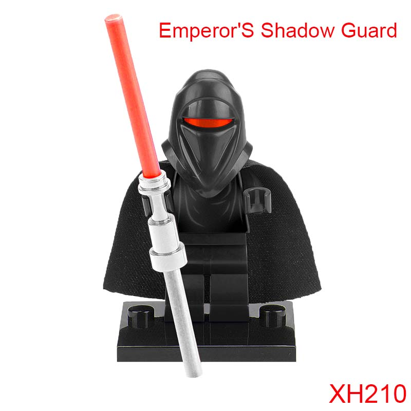 EmperorS Shadow Guard Figures Single Sale Star Wars Jedi Knight Dark Lord Of Sith Building Toys Blocks Gift For Children