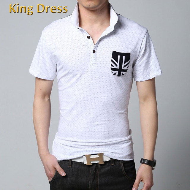 Man Polo-shirt High Quality Direct Selling Cotton Blends Regular Casual Big Size M-5XL Homme Men Short Sleeve Polo Shirts