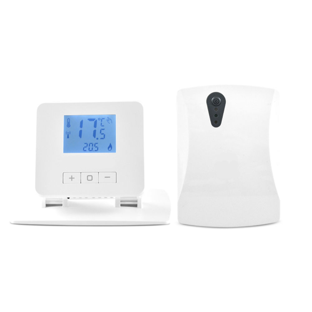 Wireless boiler room digital thermoregulator thermostat for warm floor water heating Thermostat Residential Room Heating System