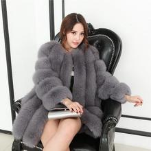 Women winter new thick fox fur coat 2018 Korean version of self-cultivation mosaic mink COAT OF FUR FOR WOMEN WINTER Tops