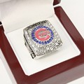 REPLICA 2016 CHICAGO CUBS BASEBALL WORLD SERIES CHAMPIONSHIP RING WITH HIGH QUALITY MEN JEWELRY wooden box solid