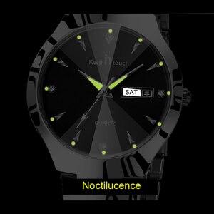 Image 4 - HALTEN IN TOUCH Marke Luxus Liebhaber Uhren Quarz Kalender Kleid Frauen Männer Uhr Paare Armbanduhr Uhren Hombre 2020 Mit Box
