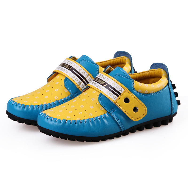2016 New spring children shoes boys peas shoes breathable soft bottom kids comfort shoes high quality free shipping