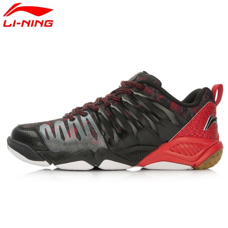 LiNing Professional Badminton Shoes for Men Hard-wearing Lining Athletic Sneaker Anti-Slippery Sport Shoe LiNing AYTL039 L640OLB цена