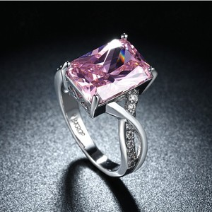 Оптовая продажа Ограниченная серия, Новое поступление, модное Ювелирное кольцо унисекс с настоящими кристаллами Swarovskis