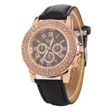 2018 Gold Watch Women Luxury Brand Diamond Dial New Ladies Quartz-Watch
