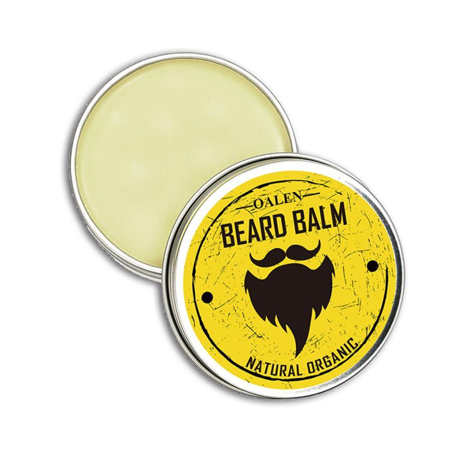 Men Beard Balm Leave Moisturizing Care Cream Beard Care Lubricating Cream 30g AP18 1