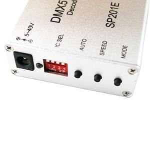 Image 3 - SP201E DMX512 decoder ws2812B ws2801 WS2811 1903 DMX dmx512 rgb led controller DMX BOARD IC led strip LED SPI Converter DC5V/12V