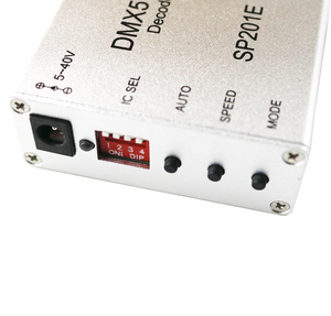 Image 3 - SP201E DMX512 decoder ws2812B ws2801 WS2811 1903 DMX dmx512 rgb led controller DMX BORD IC led streifen SPI Konverter DC5V/12 V