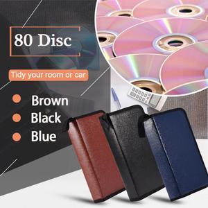 VBESTLIF 80 диск большой емкости портативный PU кожа porta CD DVD VCD чехол для хранения держатель упаковки высокое качество 3 вида цветов вариант