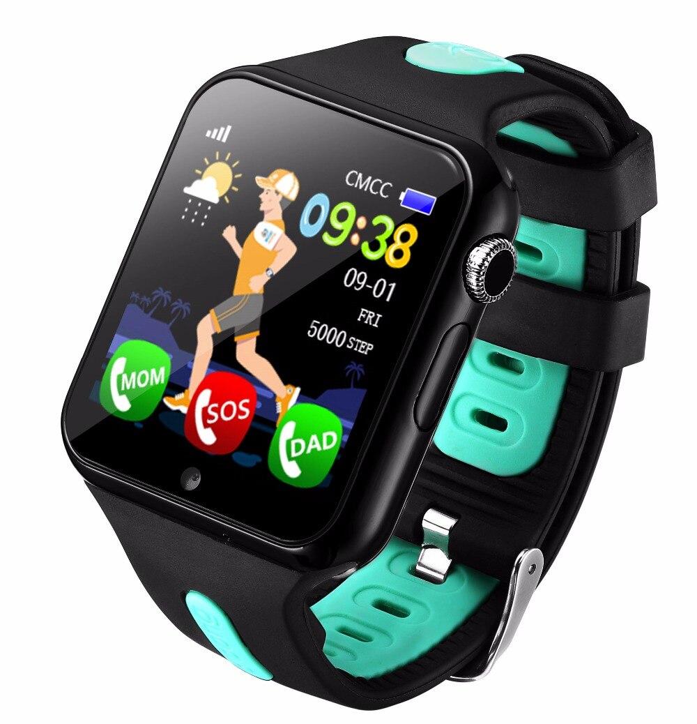 2018 nouveau suivi GPS montre pour enfants appel pour montre intelligente pour enfant avec caméra SOS localisation dispositif Tracker bébé sûr Anti-perte - 2
