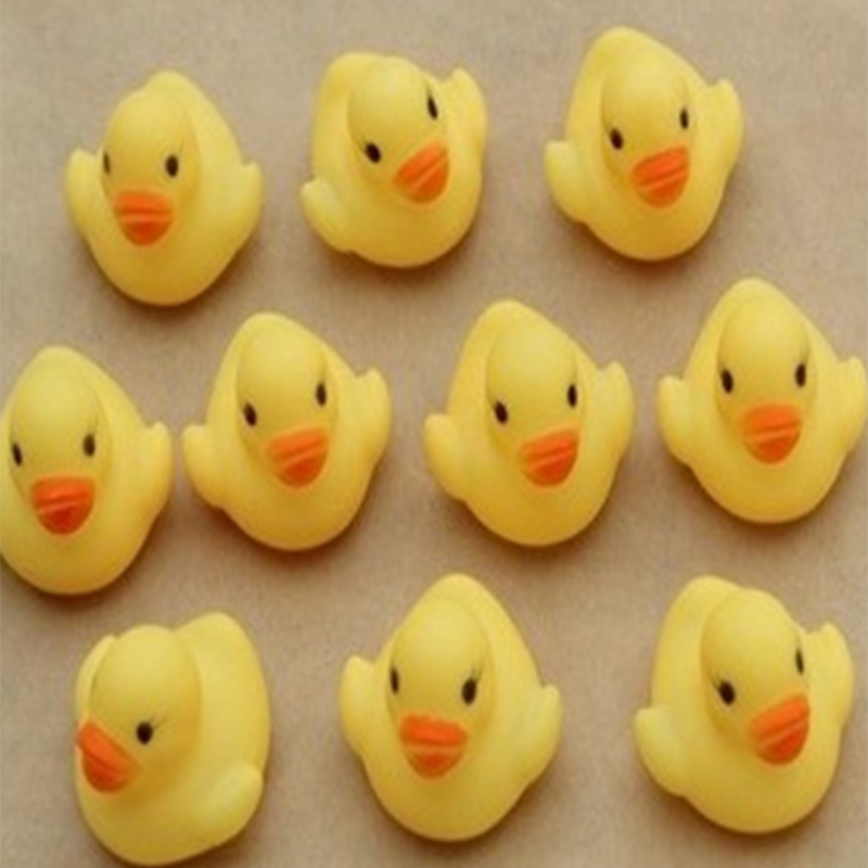 Us 0 99 Hot One Dozen 12 Rubber Duck Baby Shower Water Toys Baby Kids Children Birthday Favors Gift Toy Free Shipping Baby Bath Toys In Bath Toy